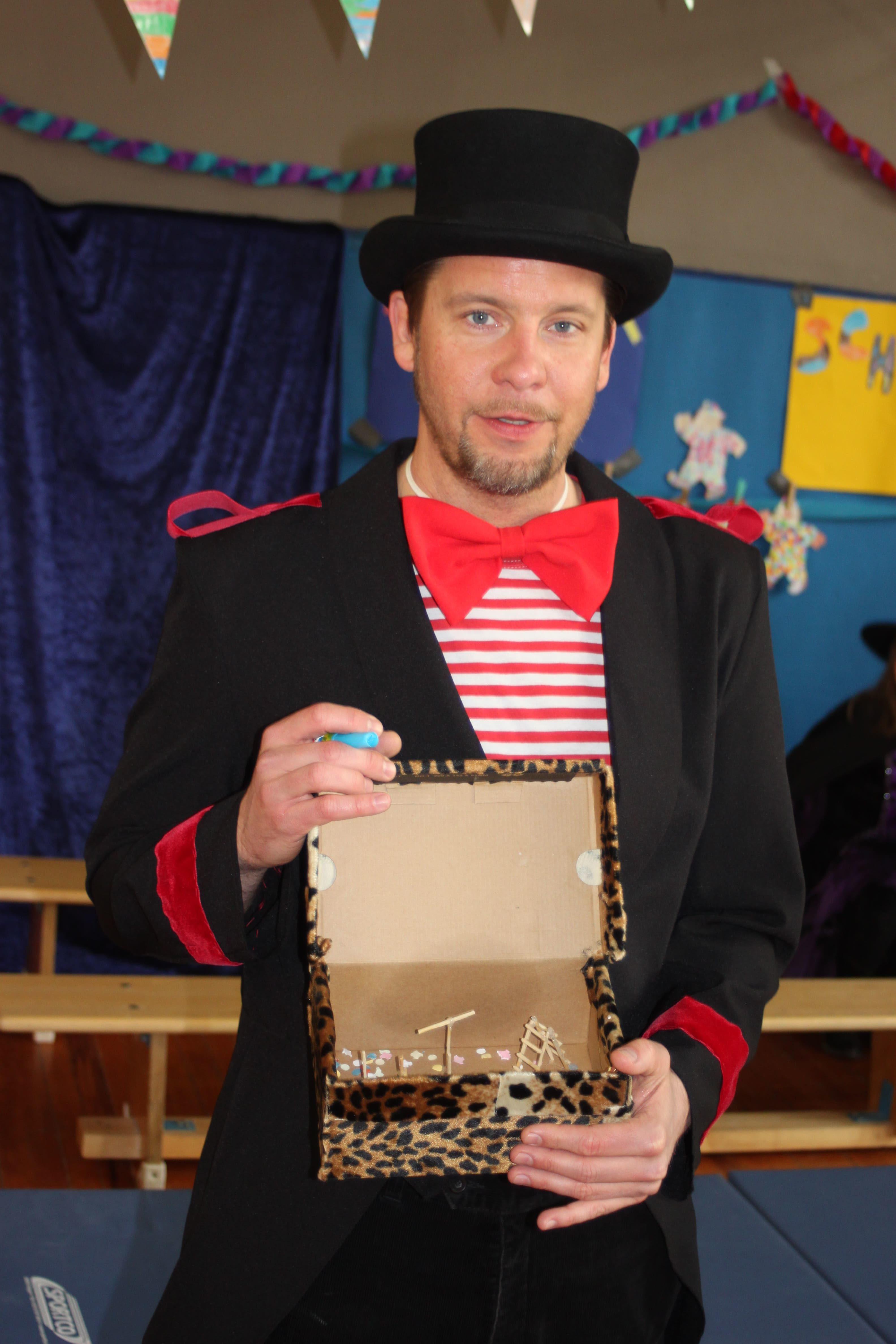 Flohzirkusdirektor Schlieper